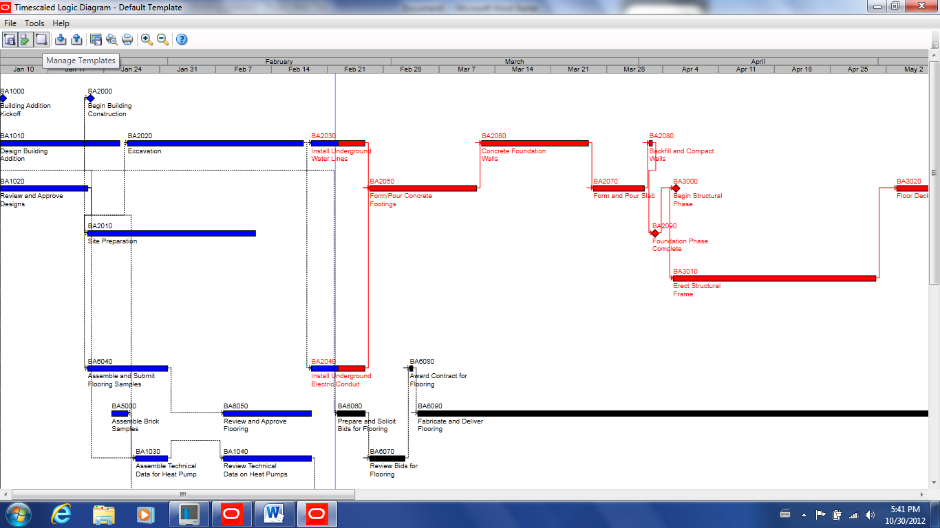 How to utilize the timescaled logic diagram primavera training blog baditri Image collections